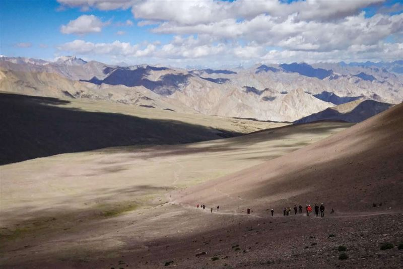 ladakh to spiti trek